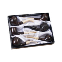 Lucienne Briarwood Tobacco Pipe | Ebony Stain | Wholesale Distributor